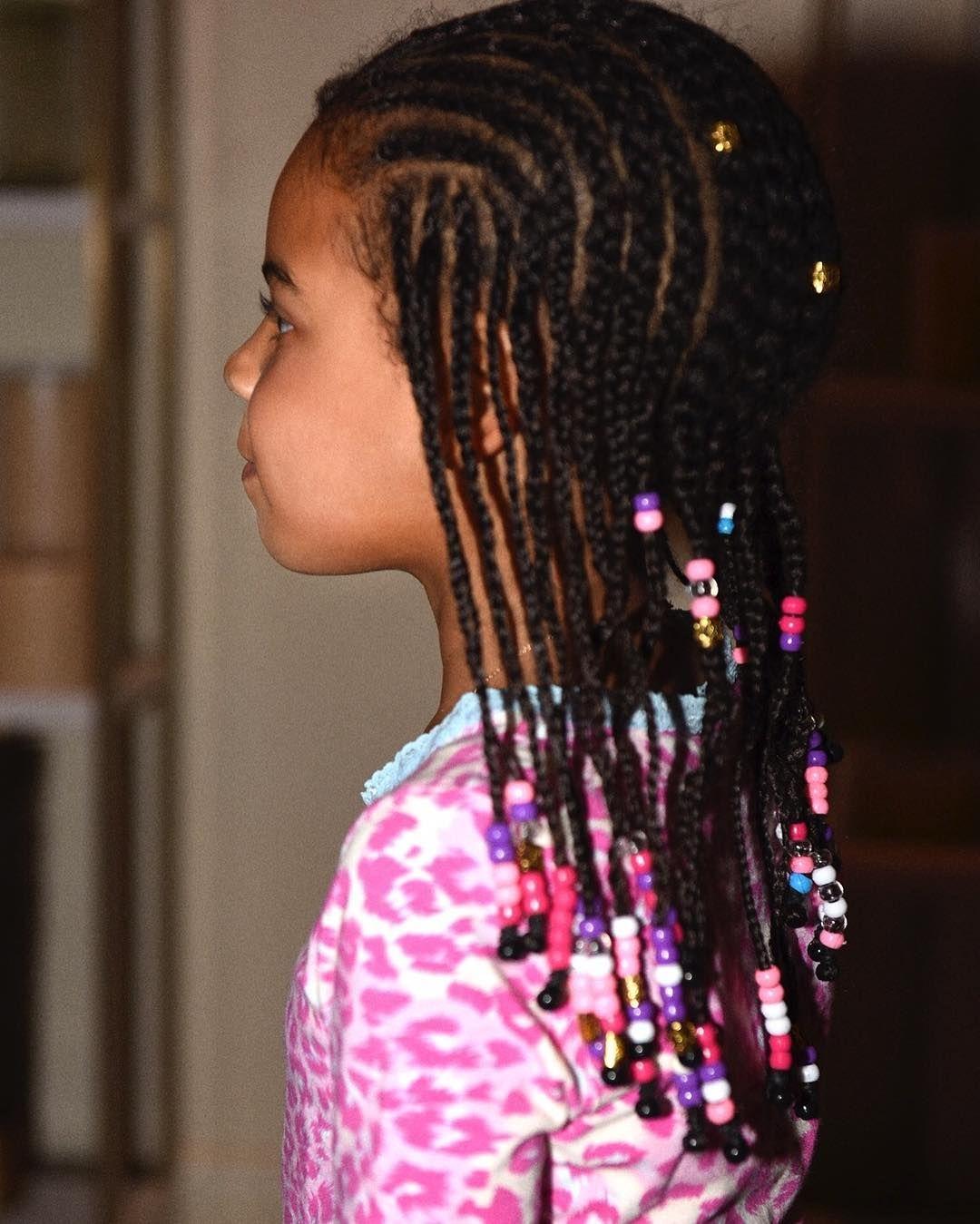 Image result for blue ivy braids