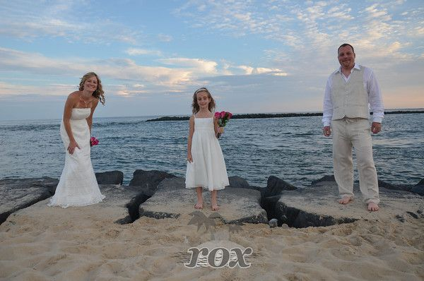 OC Inlet Ceremony On The Rocks By Rox Beach Weddings Of Ocean City MD