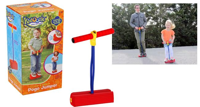 Kidoozie Foam Pogo Jumper - Here's a toy that's perfect for getting kids aged 3+ to get more active.