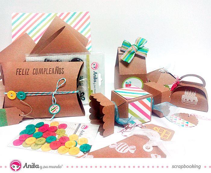 ideas para envolver tus regalos con cartulinas kraft