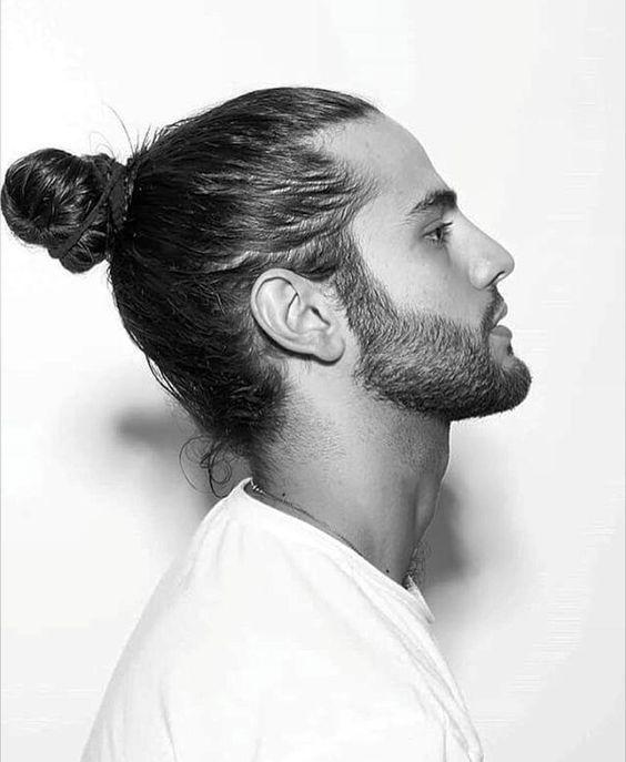 82775d852c Pin by Tyler Wisler Home on Hair Envy... in 2019 | Man bun hairstyles, Man  bun styles, Hair