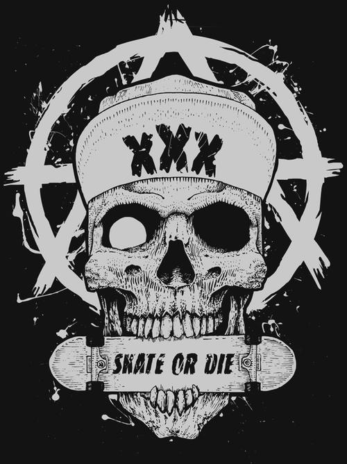 Shockblast X Tumblr Arte Com Caveiras Sociedade Secreta