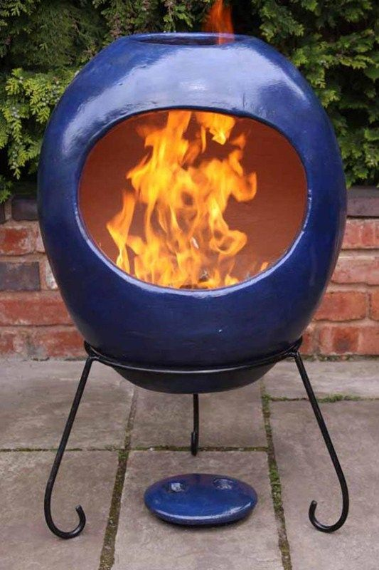 Clay Chiminea Google Search Chiminea Outdoor Fireplace Designs Outdoor Decor