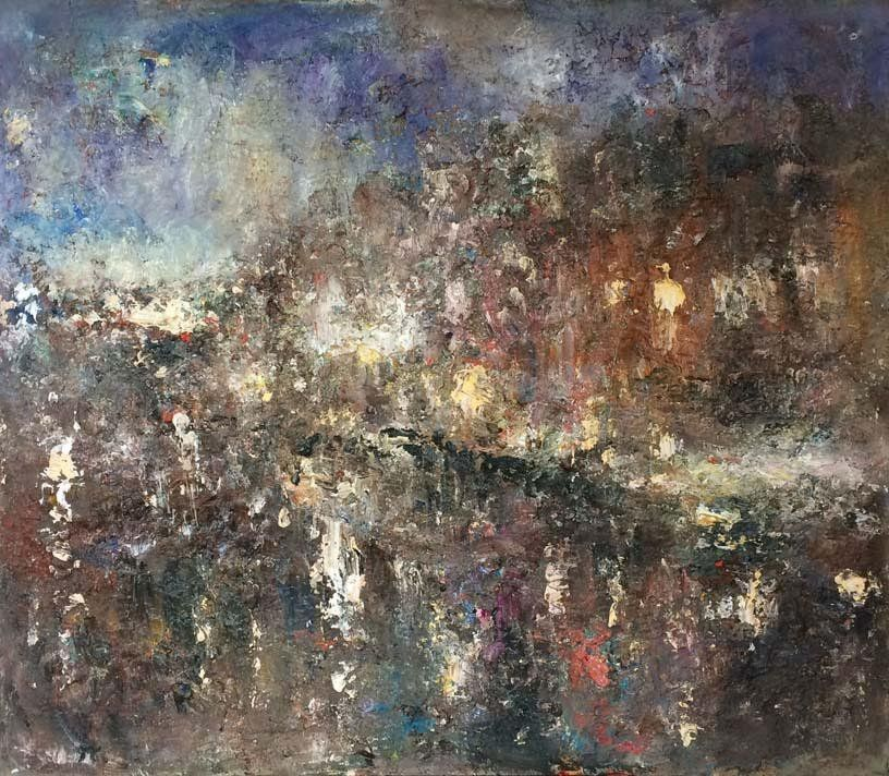 Né à Amsterdam en 1955, Bernard de Wolff vit et travaille entre Amsterdam, Paramaribo et Paris. http://art-en-france.eu/bernarddewolff.html