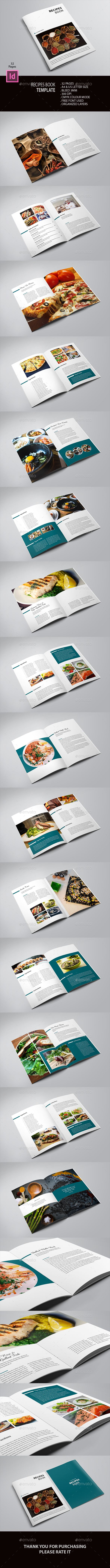 Recipe Book Template | Tipografía