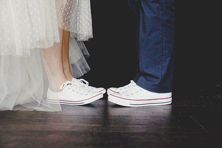 Le mariage en Converse, simple et funky, de Caroline & Guillaume ...