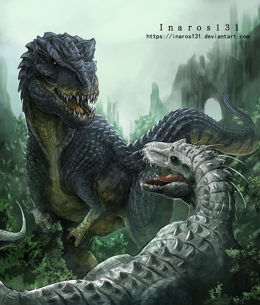 Vastatosaurus VS Indominus by Inaros131 on DeviantArt