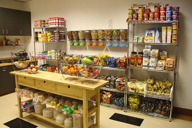 Custom Snack Racks | Office Coffee Service & Delivery | Blue Tiger on kitchen food storage, kitchen dish storage, kitchen vegetable storage,