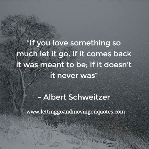 Quotes About Letting G...