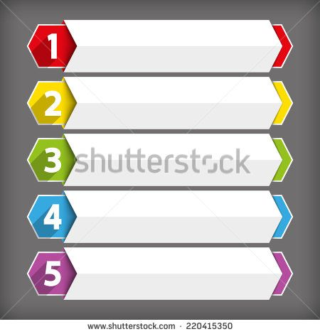 Table Of Contents Use For Template Sequence Ranking List Chart