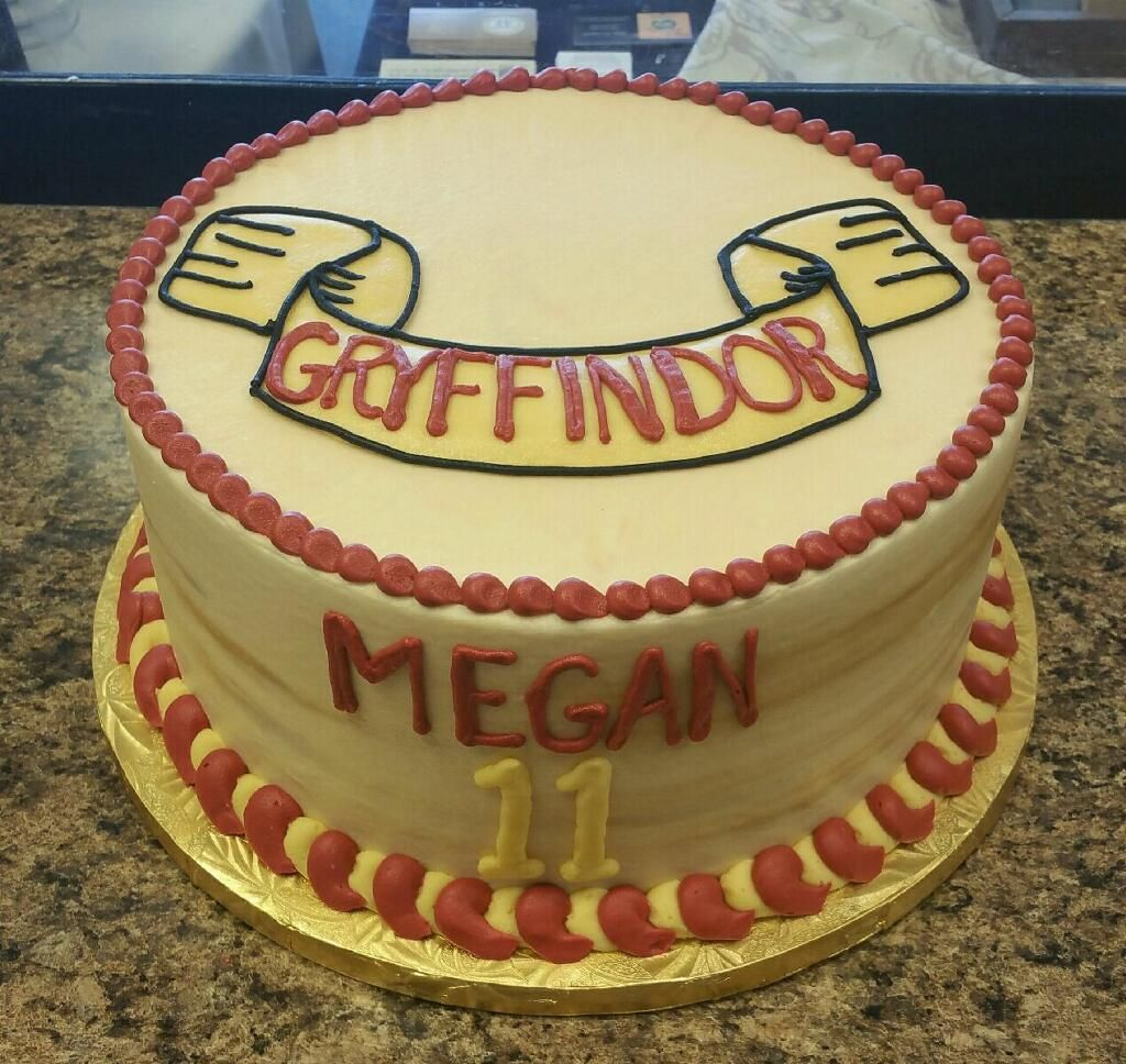 Harry Potter Themed Birthday Cake Girls Birthday Cake Pinterest