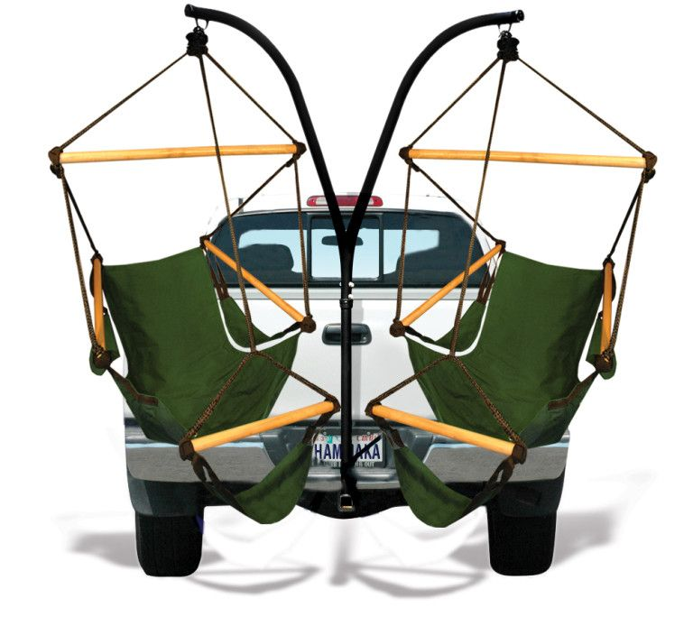 This Trailer Hitch Hammock Is The Ultimate Way To Relax Anywhere On The Go Hammock Swing Chair Hammock Chair Hitch Chair
