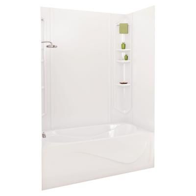 MAAX - White Margarita Acrylic Tub Wall Kit 73 Inches - 101349-000 ...