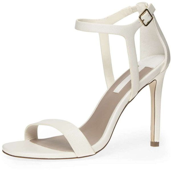 Dorothy Perkins Wide Fit White Minimal High Sandals High Sandals White High Heel Sandals Sandals