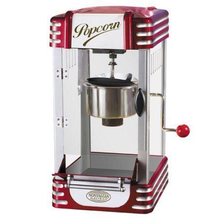 Nostalgia Electrics Retro Series Kettle Popcorn Maker Rkp630 Red