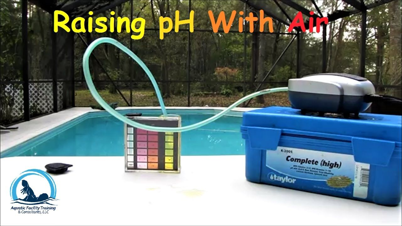 How To Raise Ph In Your Pool With Air Pool Swimming Pools Raising
