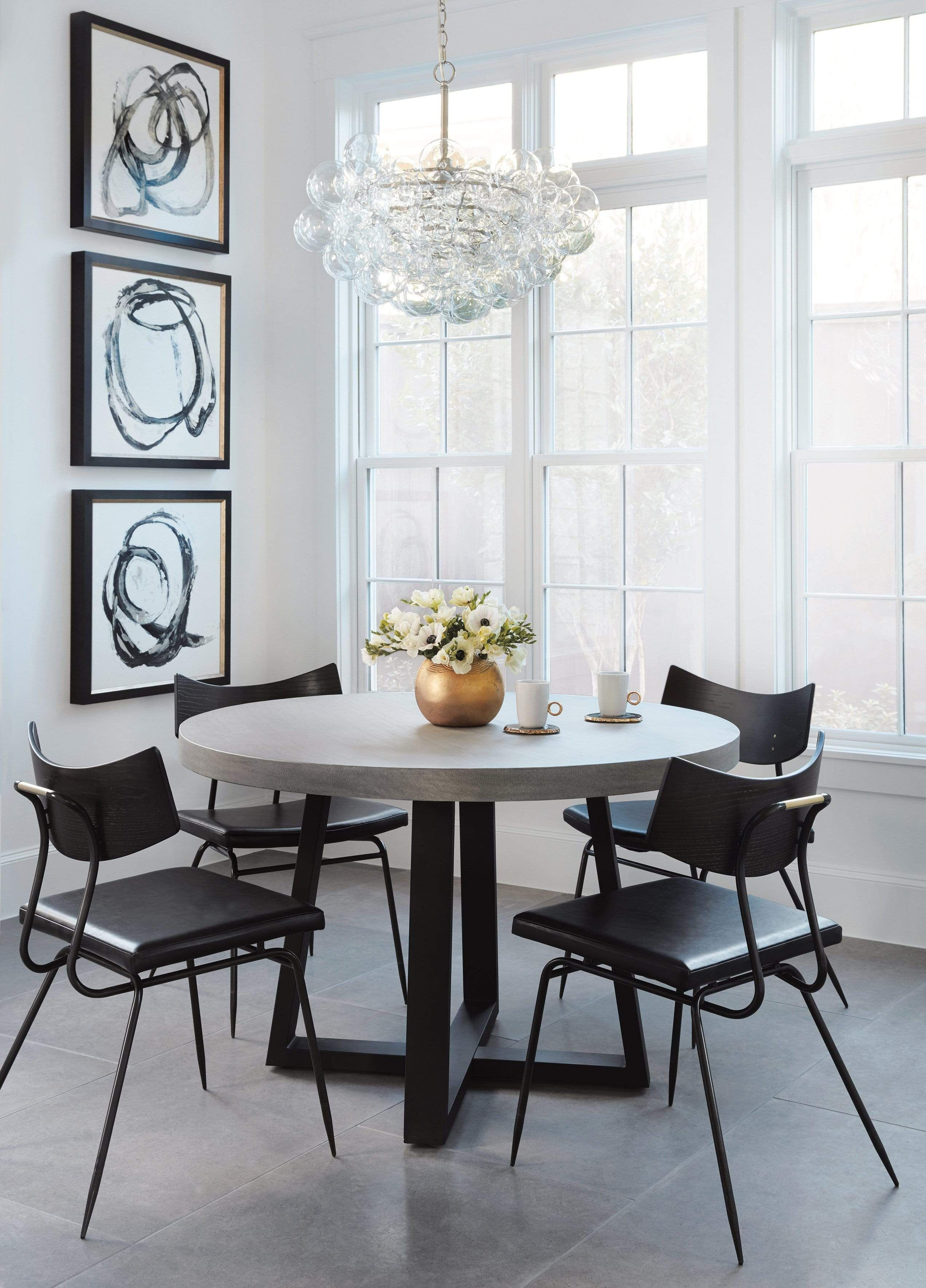 Soli Dining Chair, Black - Default Title