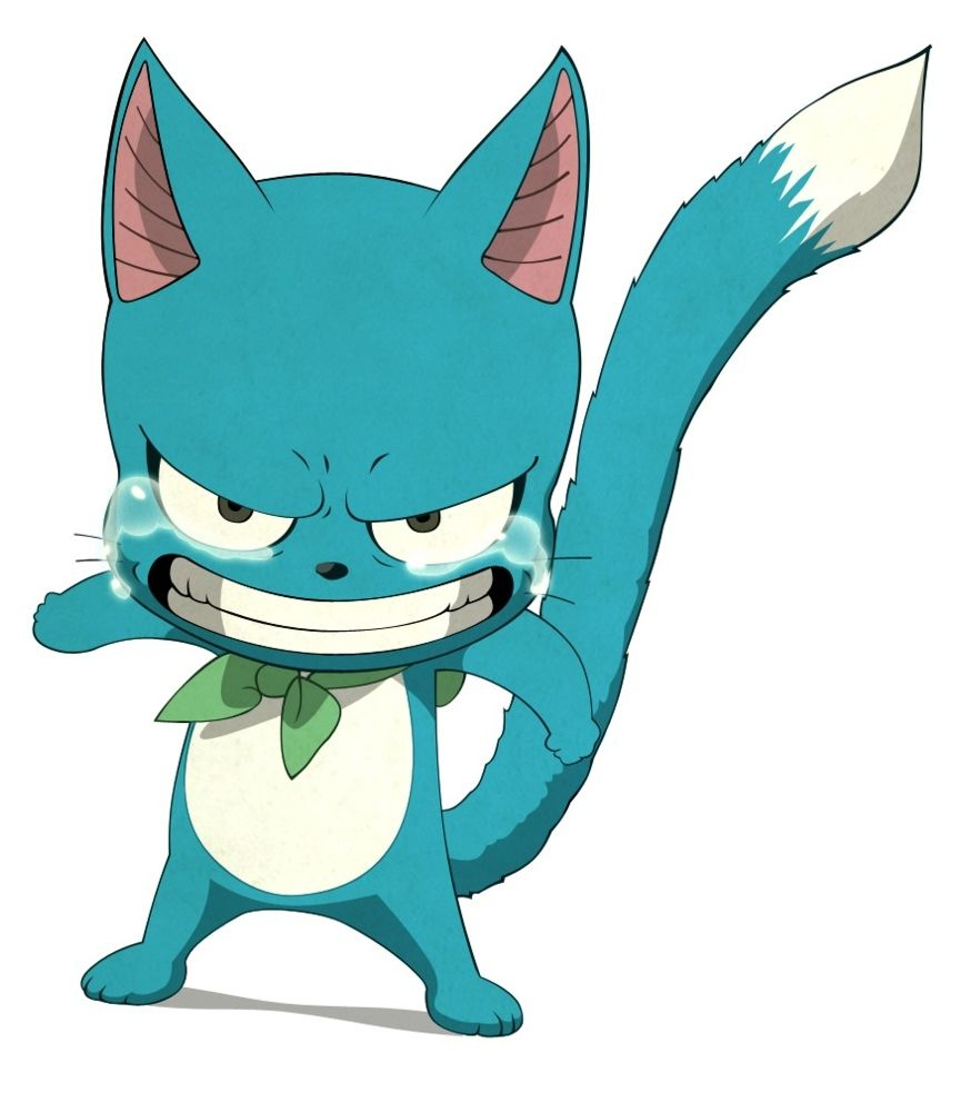 Happy (ハッピー Happī) Is An Exceed From Extalia, A Member Of