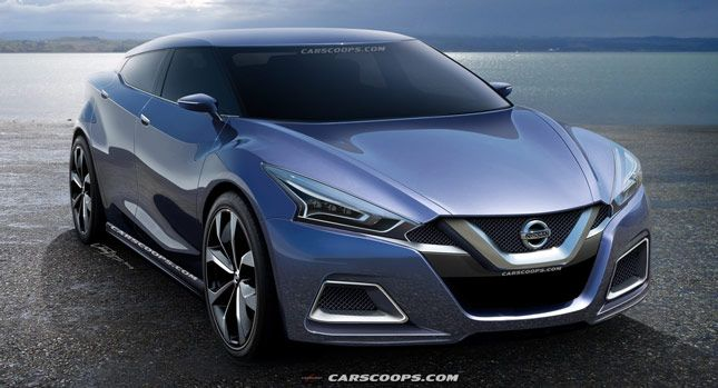 Future Cars: Dreaming Of A Revolutionary New 2015 Nissan Maxima   Carscoops