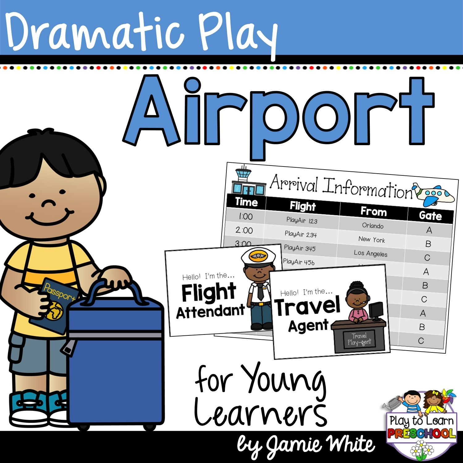Airport Dramatic Play Center