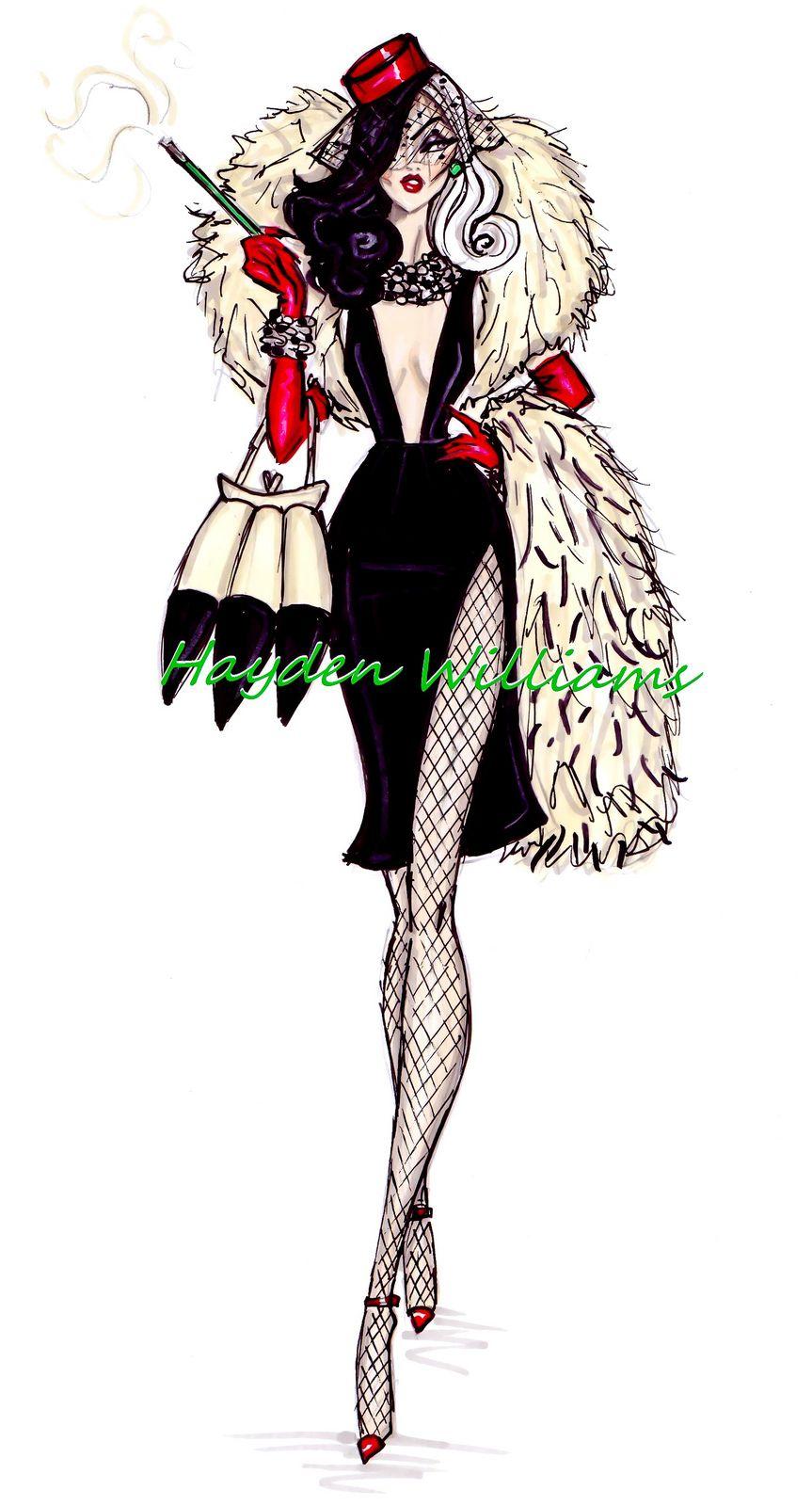 cruella deville costume playing dress up pinterest. Black Bedroom Furniture Sets. Home Design Ideas