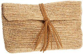 dd6c5056e2fd ShopStyle: Buji Baja Women's Raffia Crochet Crossbody Clutch ...