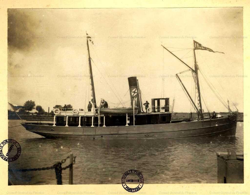 L'« Île d'Ouessant » . août 1917