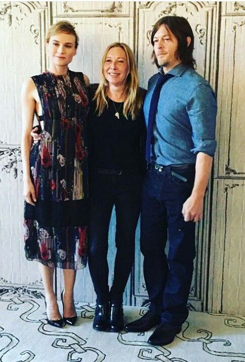 Norman Reedus Diane Kruger And Fabienne Berthaud Norman Reedus Pictures And Videos