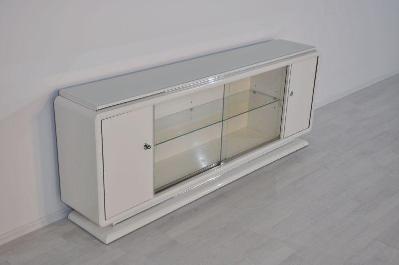 einlegebden latest art deco lowboard sideboard aus glas schiebetren with einlegebden cheap fr. Black Bedroom Furniture Sets. Home Design Ideas