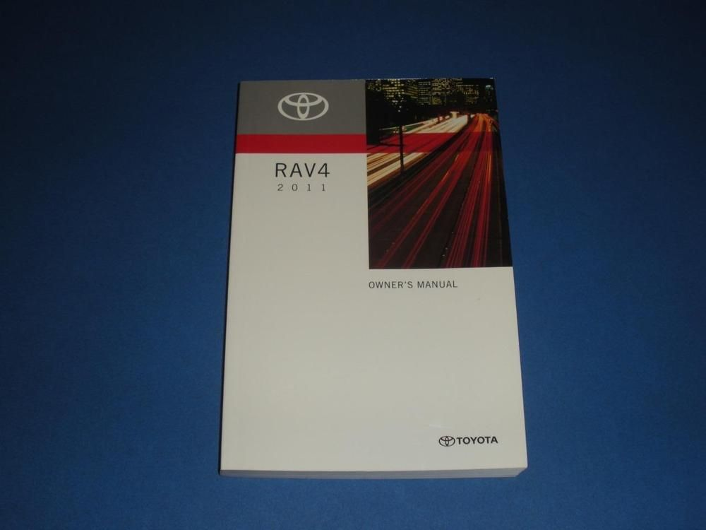 2011 toyota rav4 owners manual book guide owners manuals pinterest rh pinterest com toyota manual book pdf toyota parts manual books