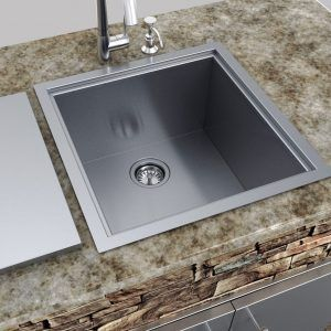 Sink Covers For Outdoor Kitchens Outdoor Kitchen Sink Single Basin Sink Outdoor Kitchen