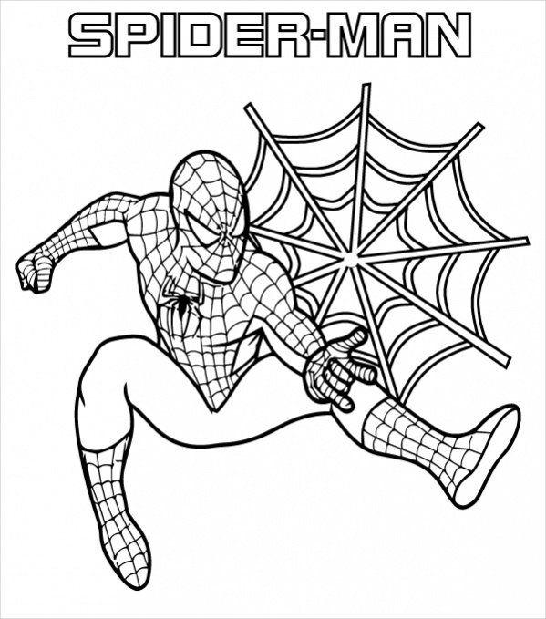 Spiderman Coloring Pages Pdf Superhero Coloring Pages Spiderman Coloring Avengers Coloring Pages