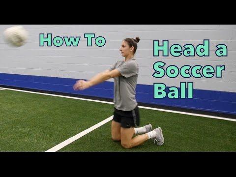 How to Head a Soccer Ball | YFutbol - YouTube