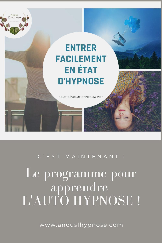 Apprenez A Entrer Facilement En Etat D Hypnose Hypnose Maitrise De Soi Programme