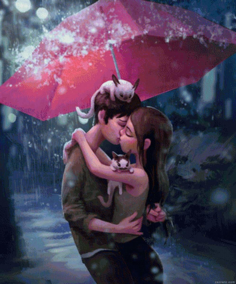 Картинки романтические про любовь мужчине мультяшные