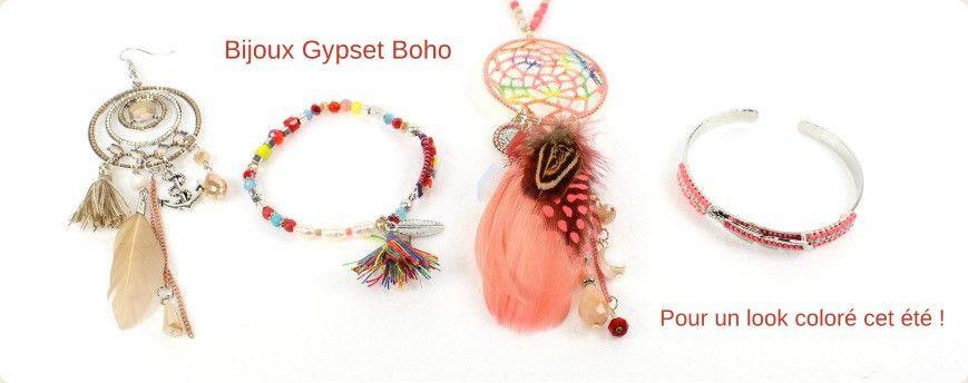 Les looks colorés pour l'été avec les bijoux Gypset Boho de Parissima ! #parissima #grossistebijoux #bijouxfantaisie