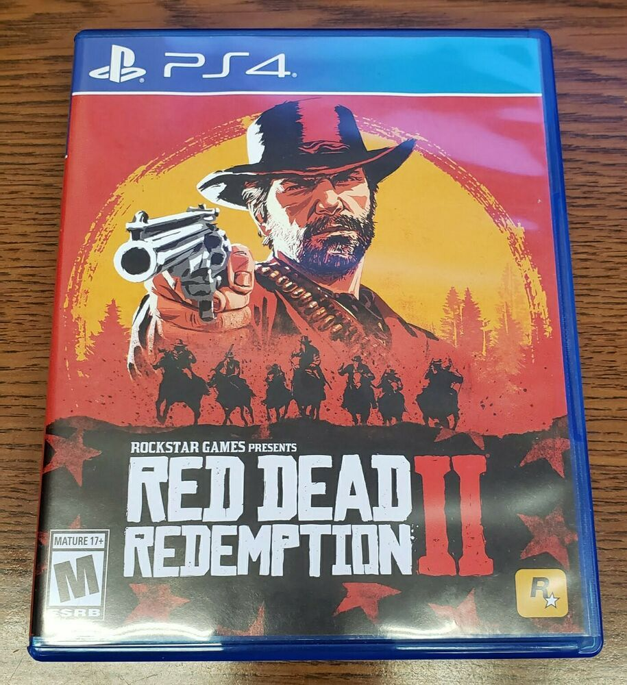 Red Dead Redemption 2 PS4 With Pe-Order Code
