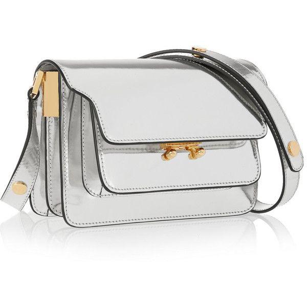 Marni Trunk mini metallic leather shoulder bag (£1 9068de6c7bcbc