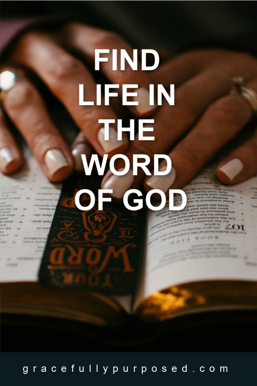 Find Life In The Word Of God In 2020 Word Of God Words Faith