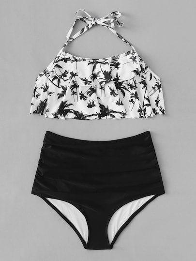 311d0d255e3ac Flounce Bikini, Tankini, Cute Bathing Suits, Set Online, Bikini Set, Bikini