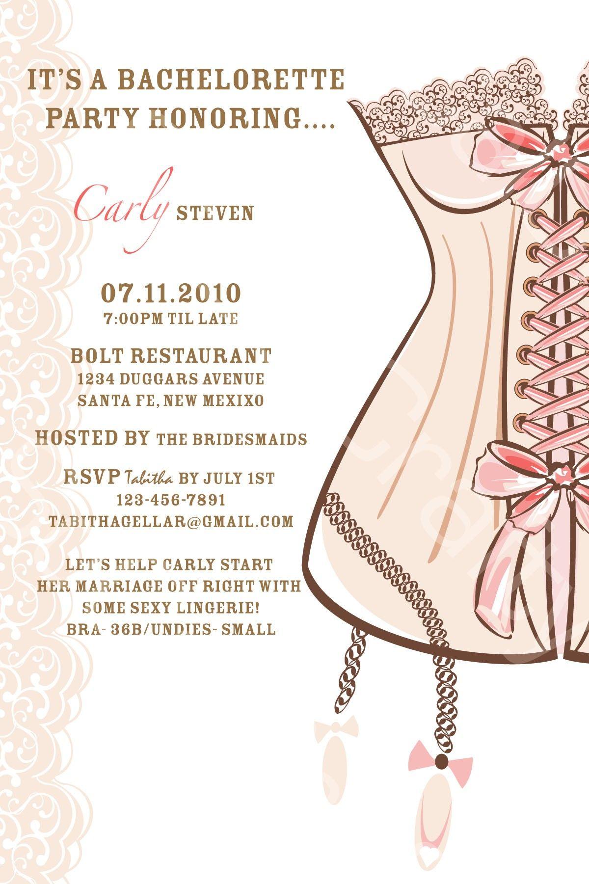 Unique Ideas For Bachelorette Party Invitation Wording Templates The T Party Invite Template Bachelorette Party Invitations Free Bachelorette Party Invitations