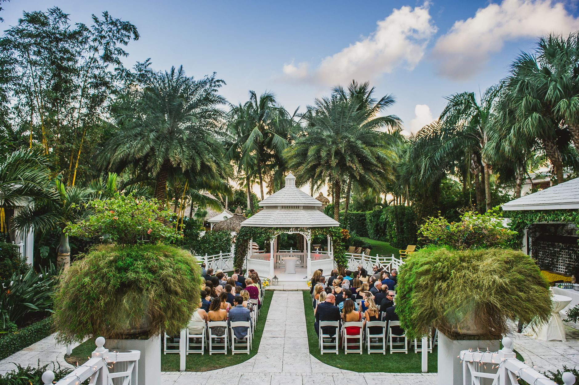 Wedding at The Palms Hotel and Spa in South Beach, Miami Florida ...