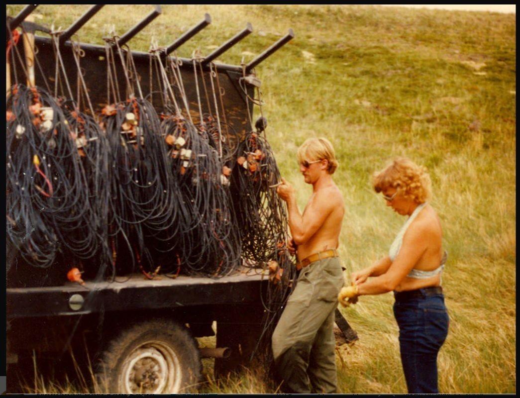 Wolfpoint Montana 1979 Mississippi(21) & Karen Hammer(36