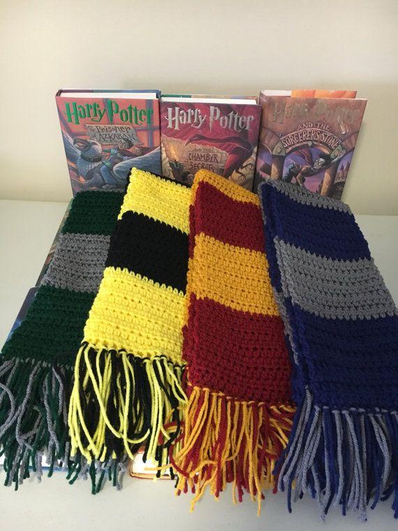 Adult Harry Potter Scarf Gryffindor Scarf Ravenclaw Scarf Interesting Hufflepuff Scarf Pattern