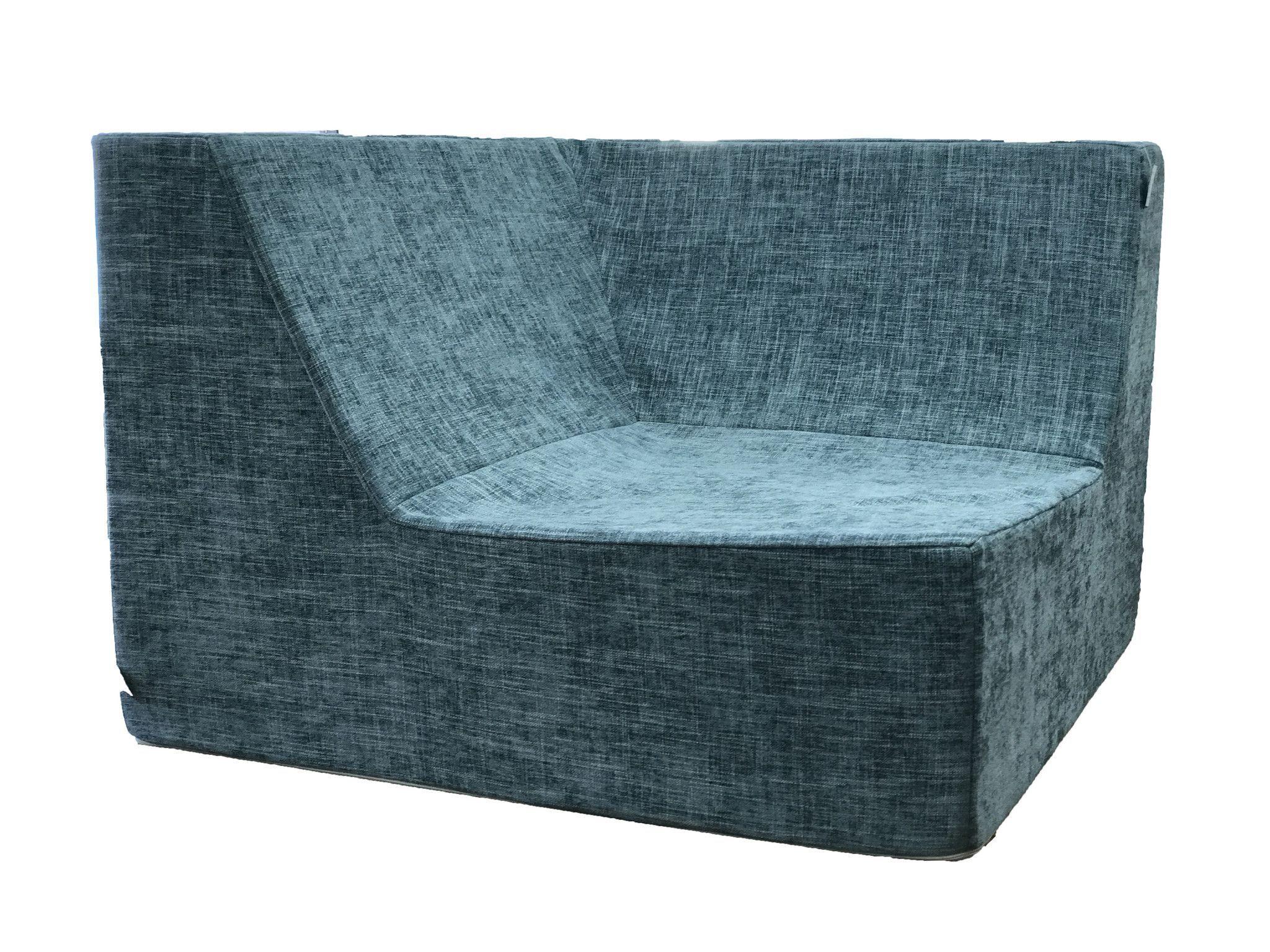 Lowboy Corner Lounge Chair
