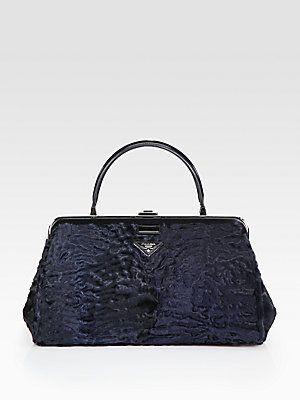 791bf2649904 ... inexpensive prada astrakhan frame bag prada astrakhan frame bag  astrakhan lamb bag with leather trim.