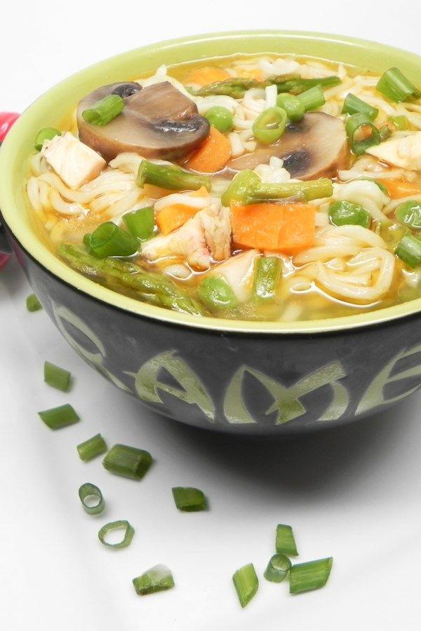 Instant Pot 174 Jazzed Up Instant Ramen Noodle Soup Recipe In 2020 Soup Recipes Easy Soup