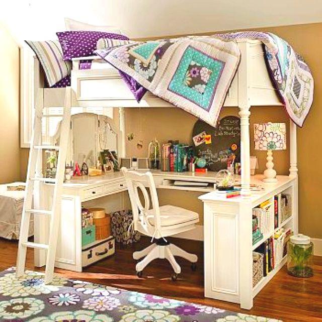 Loft beds for the girls Bedroom Pinterest Decoración de - decoracion de cuartos
