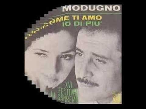 Domenico Modugno Mas Como Has Hecho Live Musica Para Recordar Musica Del Recuerdo Musica De Los 70