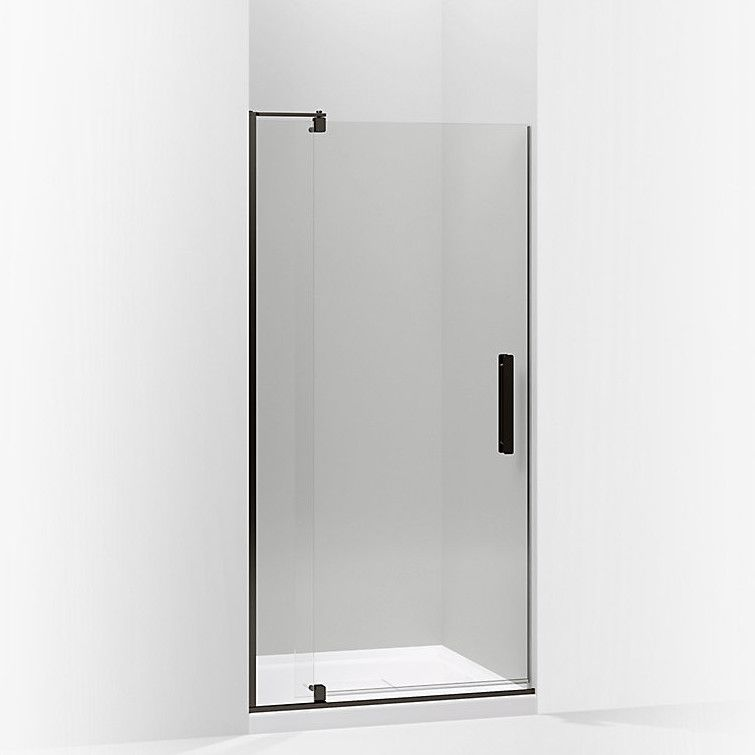 Revel 35 8 X 70 Pivot Shower Door With Cleancoat Technology
